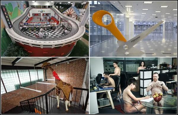 Самые необычные офисы в мире