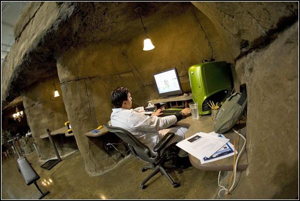 Офис-пещера