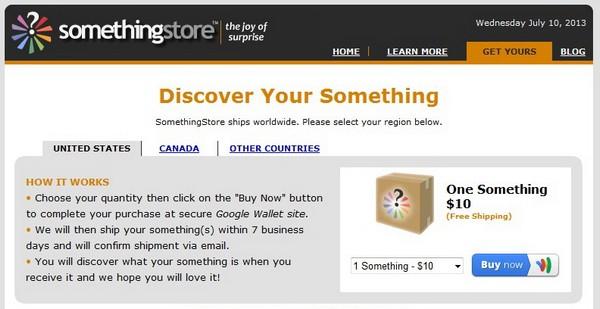 SomethingStore – продажа кота в мешке