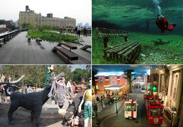 Самые необычные парки в мире