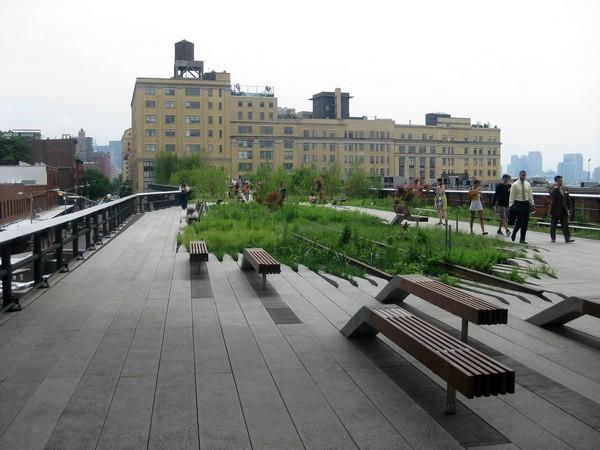 Парк на железнодорожной эстакаде