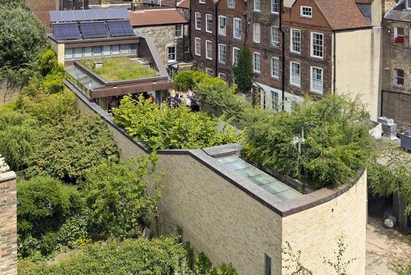 Дом с парком на крыше