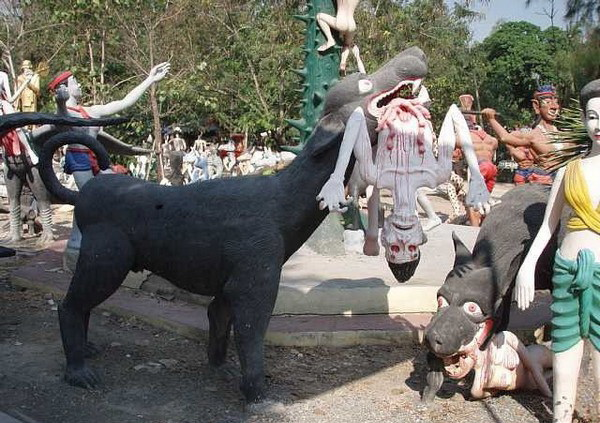 Парк грешников в Таиланде