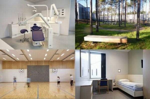 Halden – тюрьма-курорт для особо опасных преступников