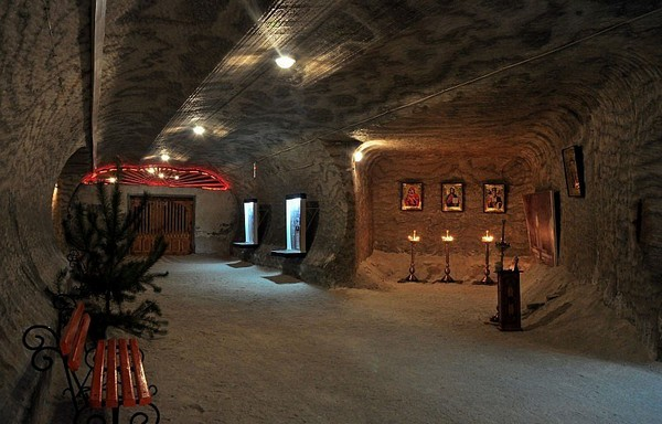 Соляная шахта в Соледаре