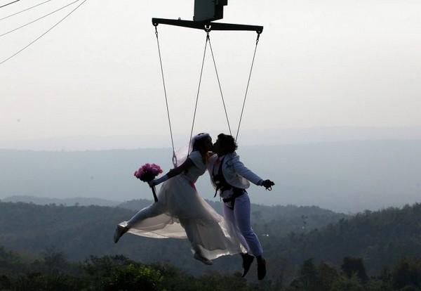 Свадебный экстрим в Таиланде