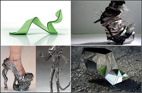 ТОП-10 самой необычной обуви в мире
