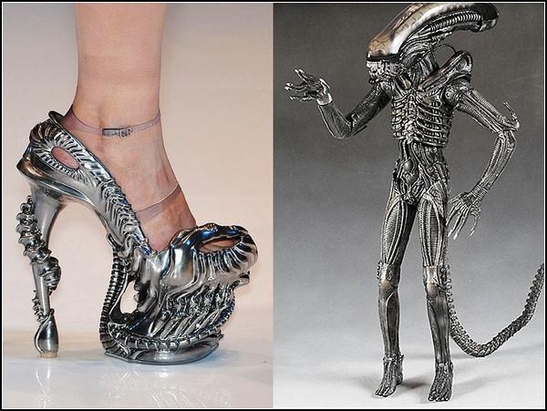 Самая необычная обувь в мире