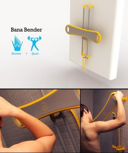 Bana Bender – душ, в котором можно накачать мышцы