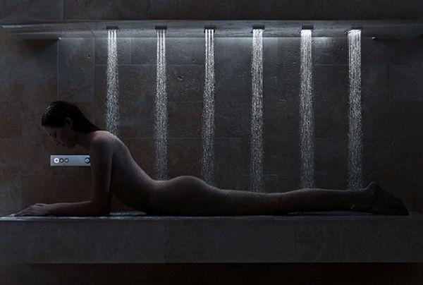 Горизонтальный душ