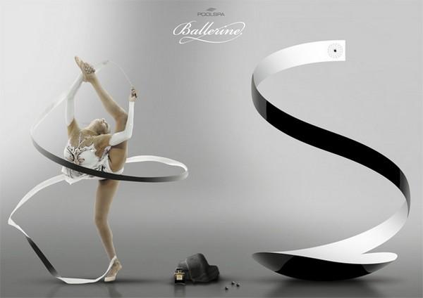 Душ для балерины или художественной гимнастки