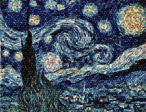 «Звездная ночь» из космических снимков