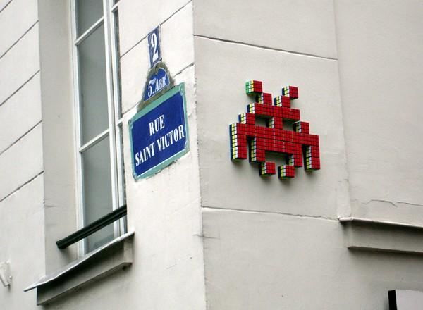 Space Invader – классика современного стрит-арта