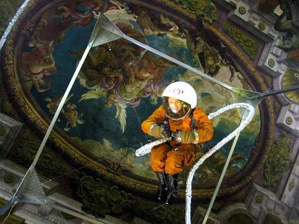 Гиперреалистичный «Космонавт» от Олега Кулика