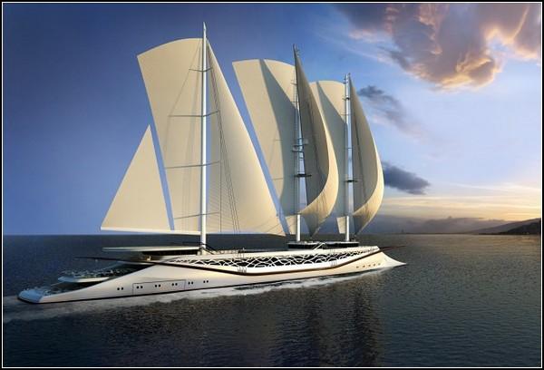 Яхта от финикийцев