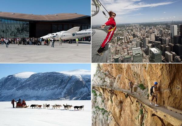 Самые необычные в мире виды туризма и отдыха