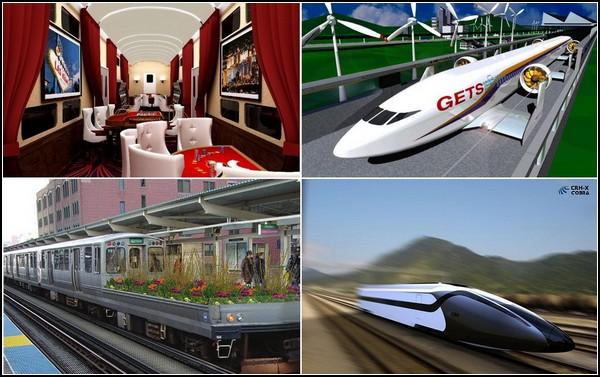 Самые необычные поезда мира