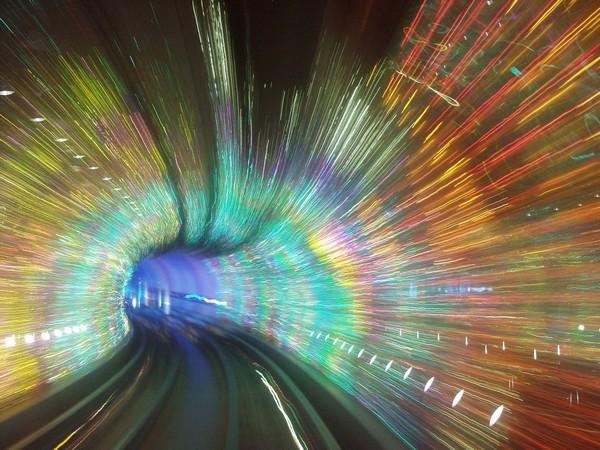 Сказочные тоннели Шанхайского Метро