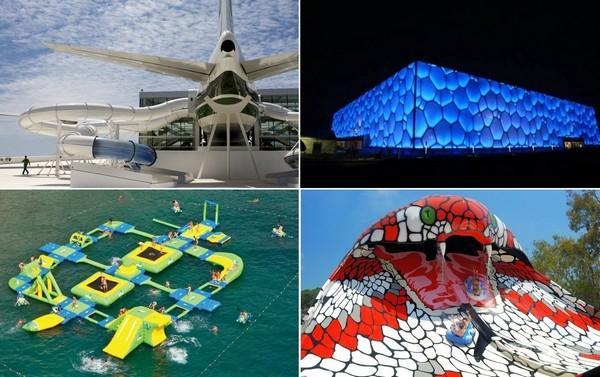 Самые необычные в мире аквапарки