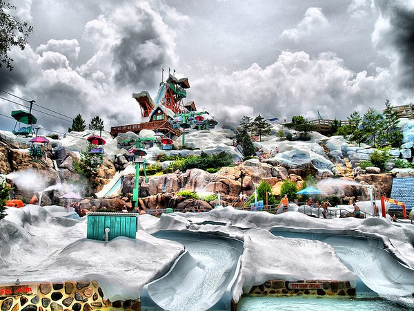 Аквапарк в стиле Disney
