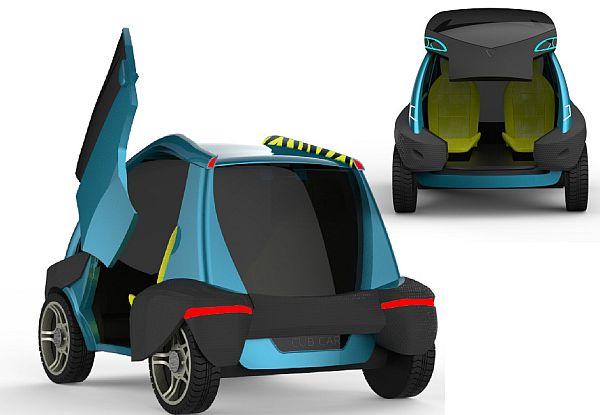 CUB – ультракомпактный городской автомобиль