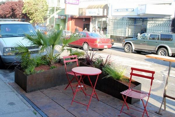 Pavement to Parks – городской оазис на парковочных местах