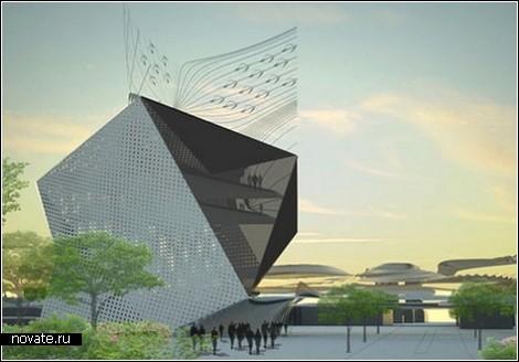 «Зеленый» культурный центр в Ванкувере