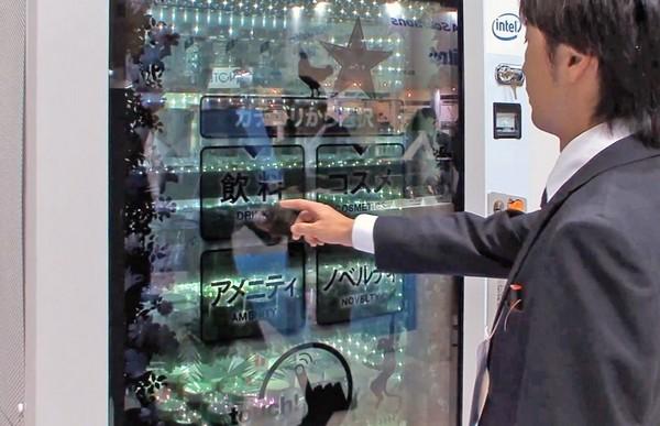 Touchscreen Vending Machine – торговый автомат с сенсорным экраном и чувством юмора