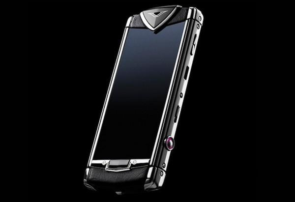 Vertu Constellation T – первый сенсорный телефон от Vertu