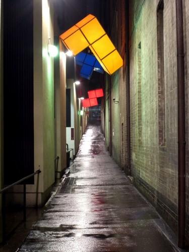 One More Go One More Go – уличные инсталляции в стиле Тетриса