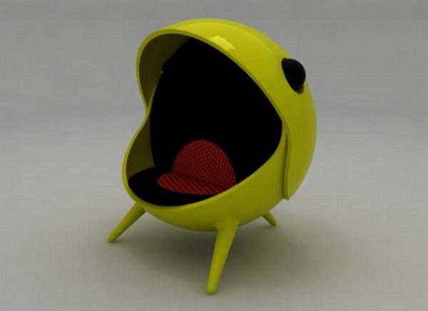 Кресло в стиле Pac-Man