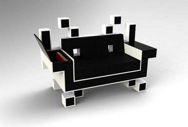 Кресло Space Invader Alien Couch
