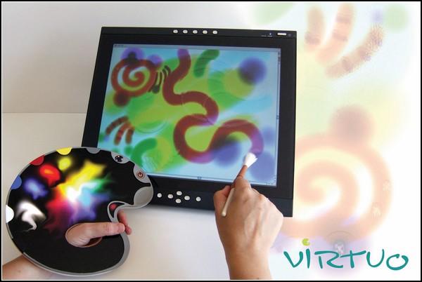 Электронная палитра для цифровых художников