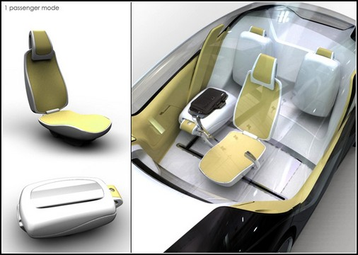 Volkswagen Inside – автомобиль на одного человека и на четырех человек