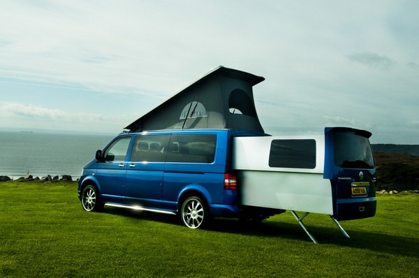 DoubleBack превратит VW Transporter в дом на колесах