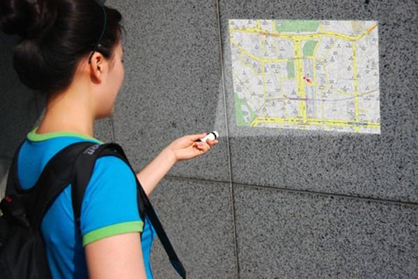 Maptor – фонарик с GPS