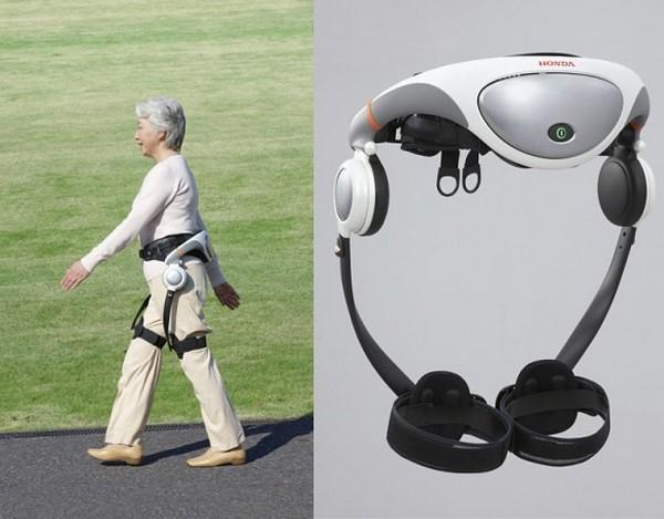 Honda Walking Assist – экзоскелет для любителей прогуляться