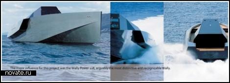 Не яхта, а автомобиль