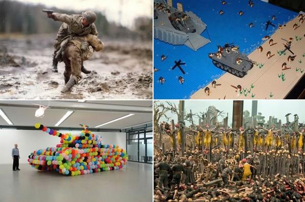 Вторая Мировая Война в современном искусстве