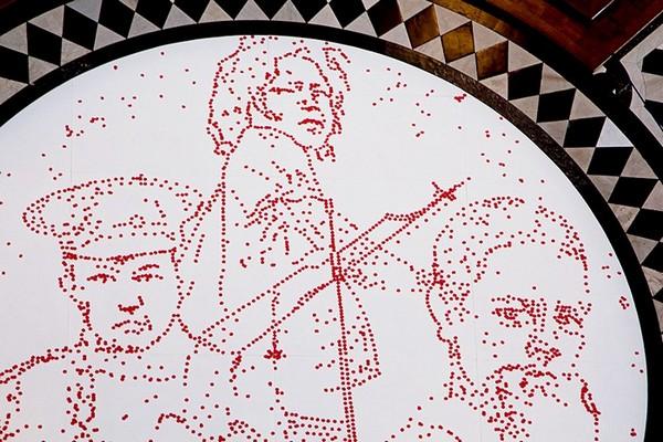 Remembrance Day – памятная инсталляция из 5000 красных маков в Лондоне