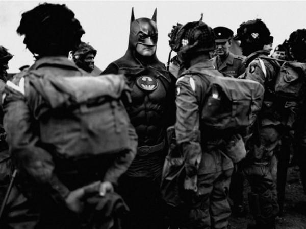 Супергерои во Второй Мировой: фотопроект от Agan Harahap