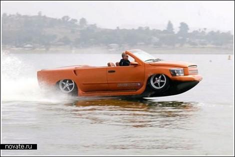 Самый быстрый автомобиль-амфибия в мире