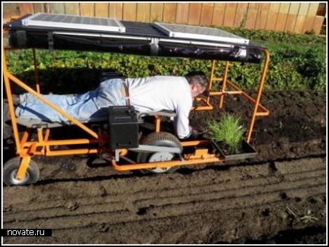 Солнечная энергия в помощь огородникам