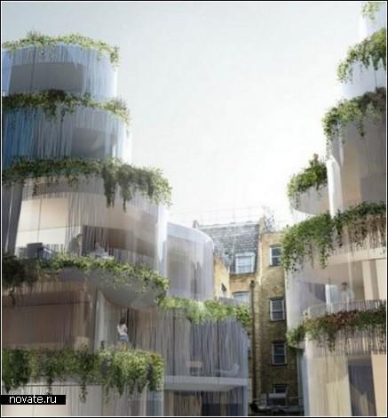 Висячие сады в Лондоне