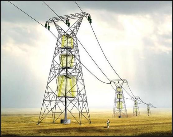 Турбины на электроопорах