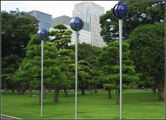 Необычные ветряки - Уличные светильники