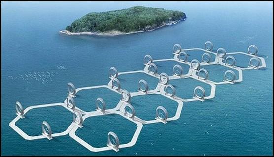Необычные ветряки - Ветряной остров