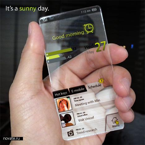 Телефон, который подскажет погоду
