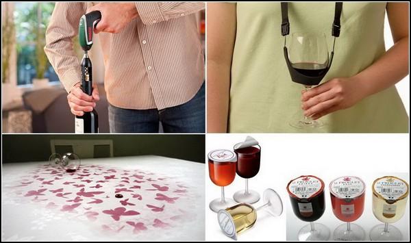 Необычные, но полезные изделия для любителей вина