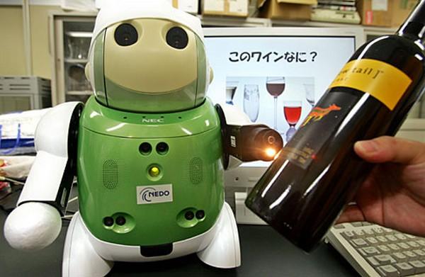 Winebot – первый в мире робот-сомелье
